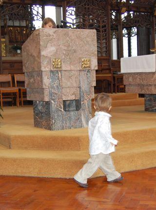 Oliver baptism sarah reading
