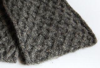 Basketweave scarf 4