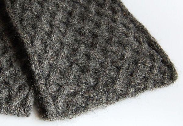 Free Knitting Patterns Beautiful Criss Cross Basket