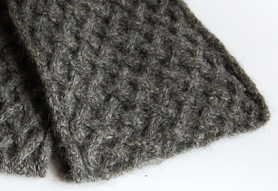 Free Knitting Patterns - Beautiful Criss-Cross Basket Weave Cabled ...