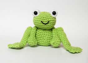 Crochet Pattern For Frog Prince And Daisy Amigurumi