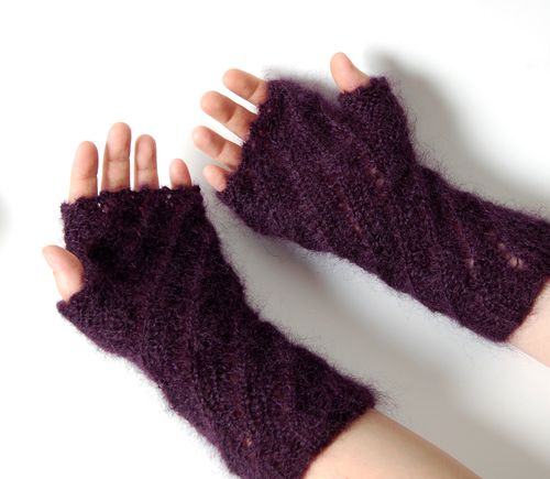 Both mitts underside