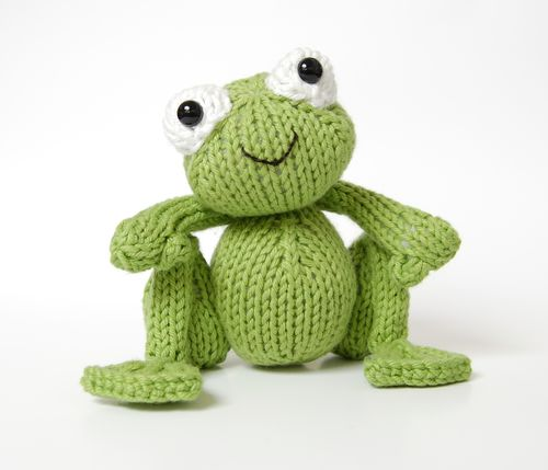 Finished frog cute 5
