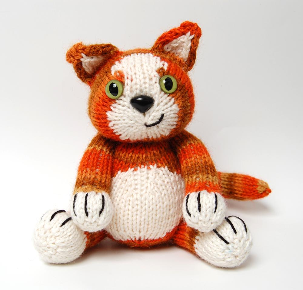 Knitting Pattern for Jasper the Tom Kitten - Oliver Boliver