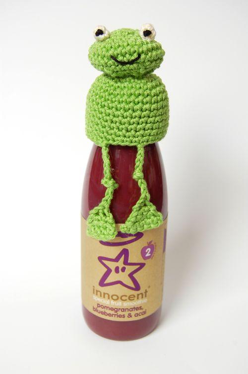 Knitting Pattern For Frog Hat : Oliver Boliver : Free Knitting Patterns