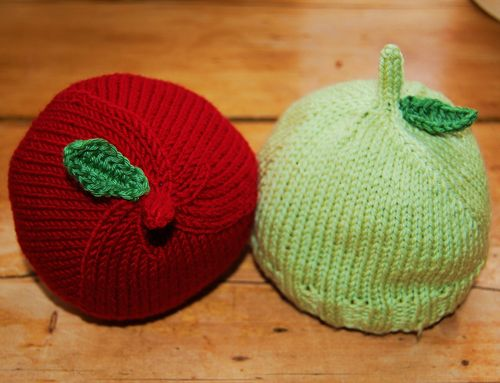 Baby apple hats