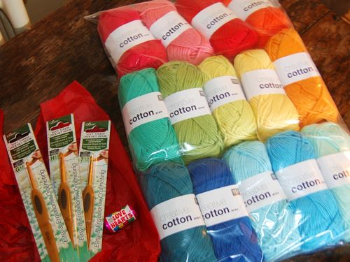 Creative cotton goody bag
