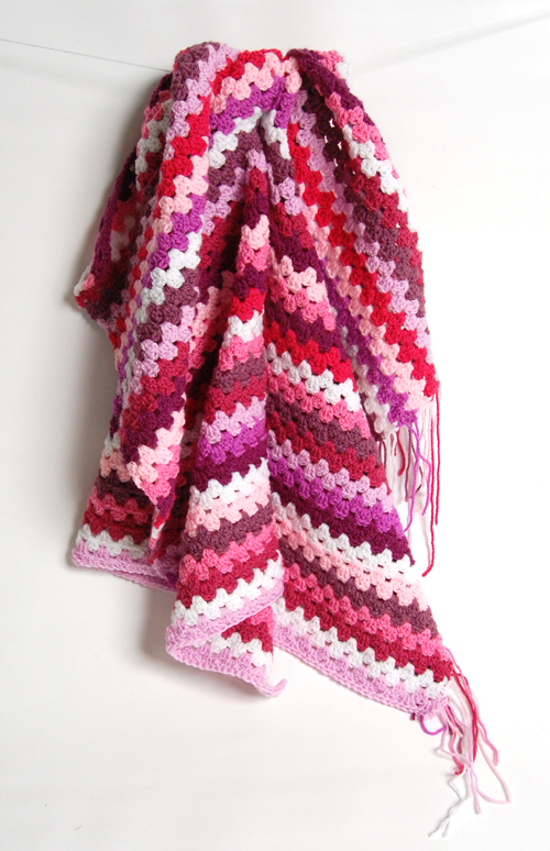 Pink blanket not finished