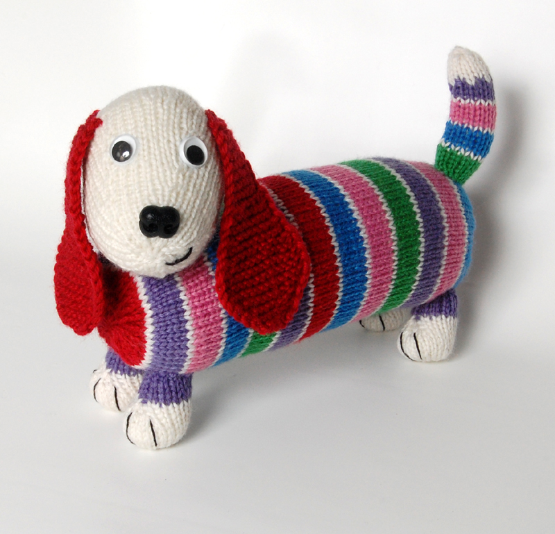Competition For Dave The Stash Busting Dachshund Knitting Pattern