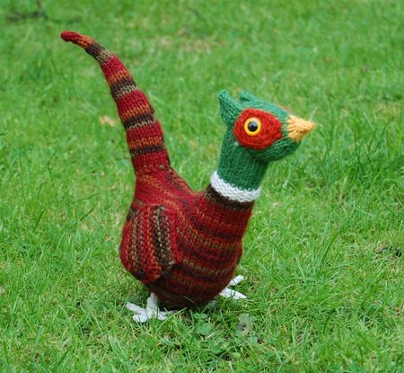 Knitted Pheasant