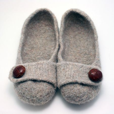 French Press Slippers by Melynda Bernardi