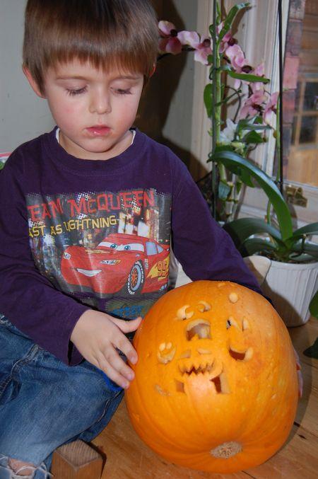 Ol and pumpkin
